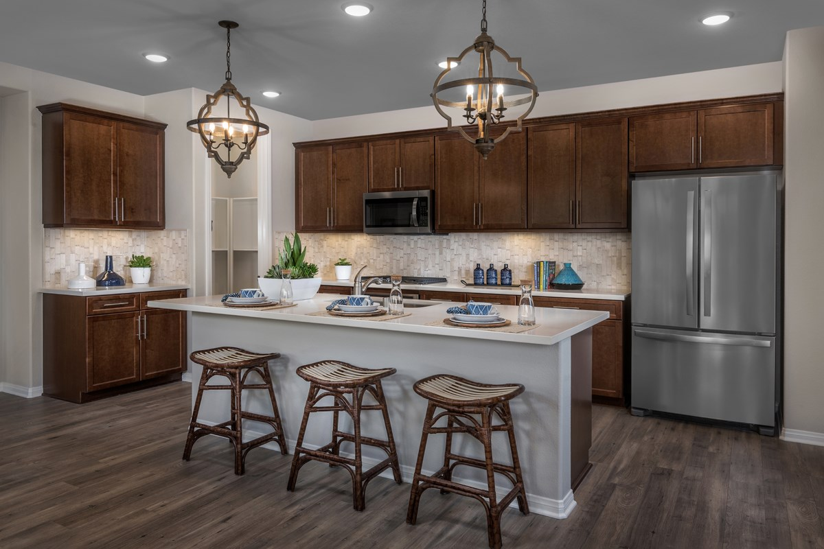 New Homes in Temescal Valley, CA - Sorrel at Terramor Residence Five - Kitchen