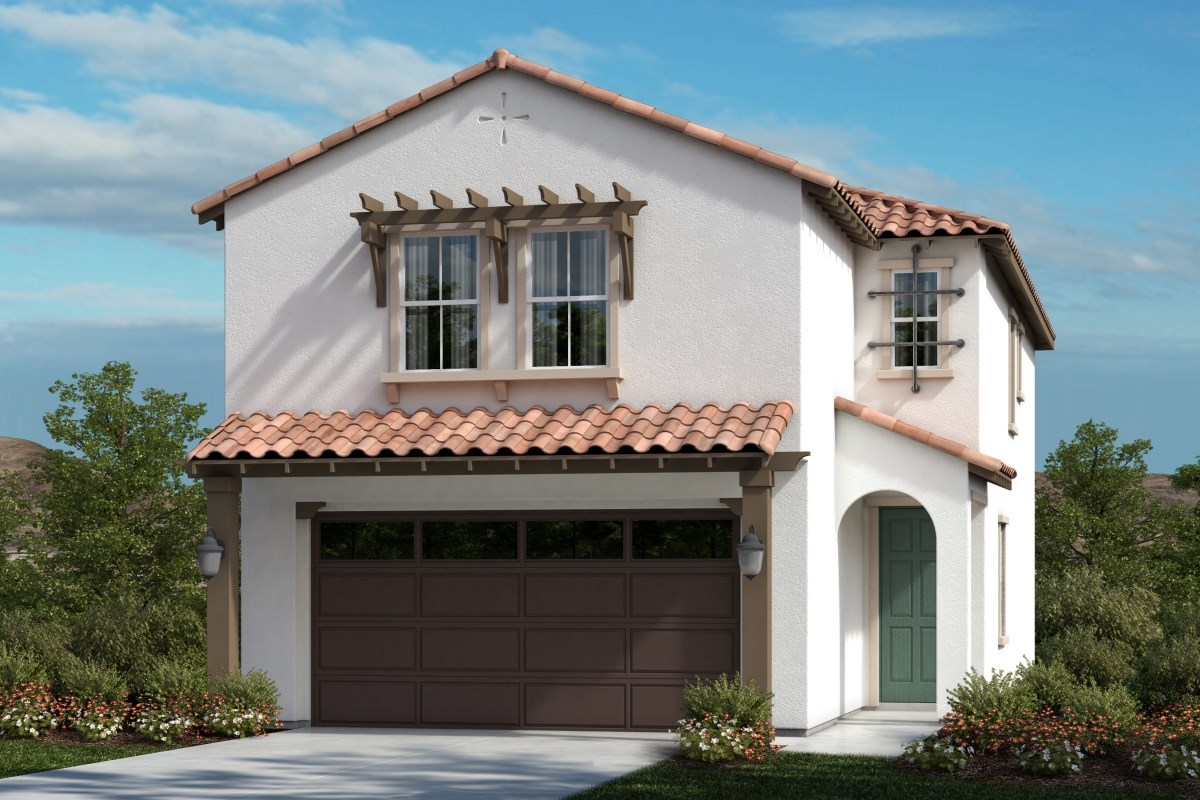 New Homes in Upland, CA - Springtime at Harvest Residence One - Spanish Colonial 'A'