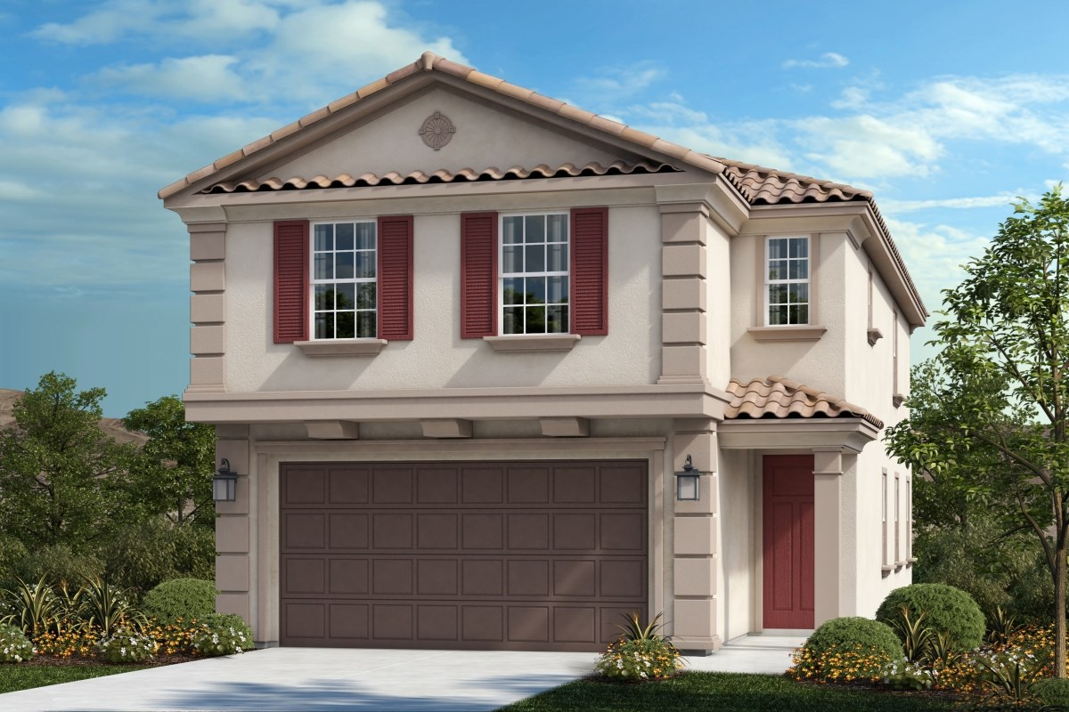 New Homes in Upland, CA - Springtime at Harvest Residence Two - Classical 'B'