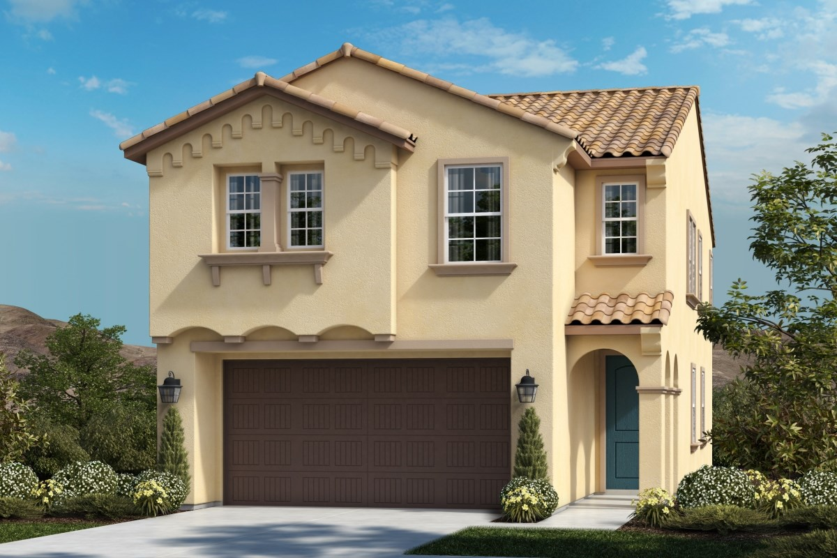 New Homes in Upland, CA - Springtime at Harvest Residence Three - Collegiate 'C'