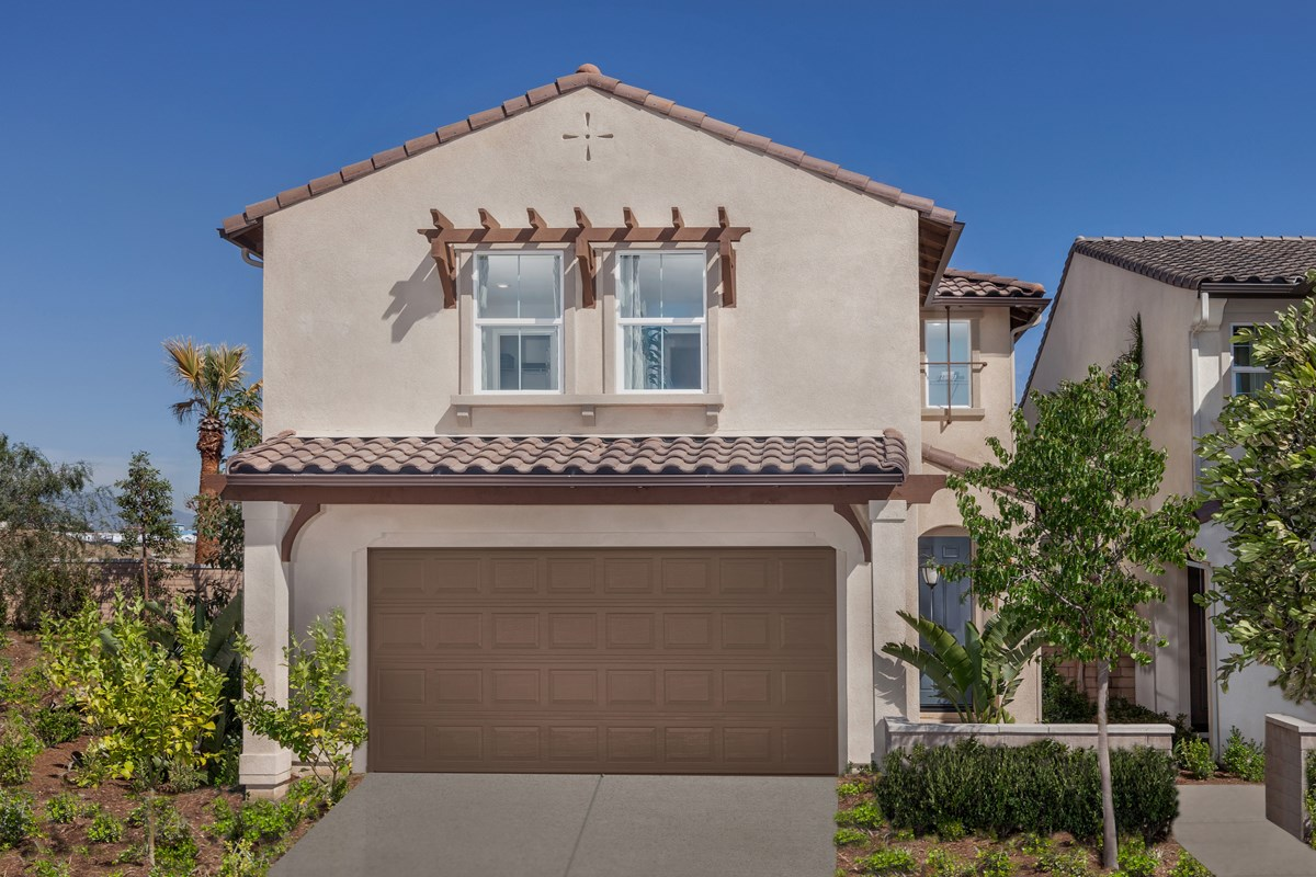 New Homes in Upland, CA - Springtime at Harvest Residence One