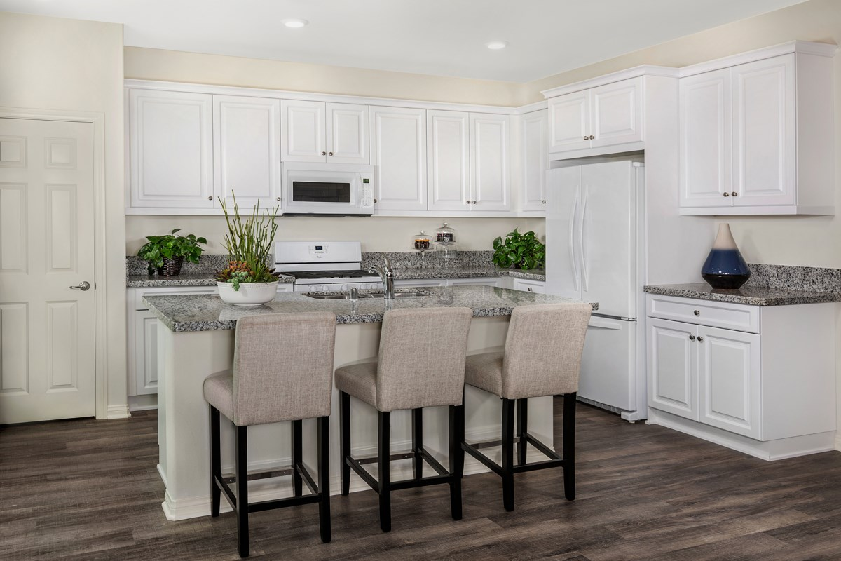 New Homes in Upland, CA - Springtime at Harvest Residence One - Kitchen