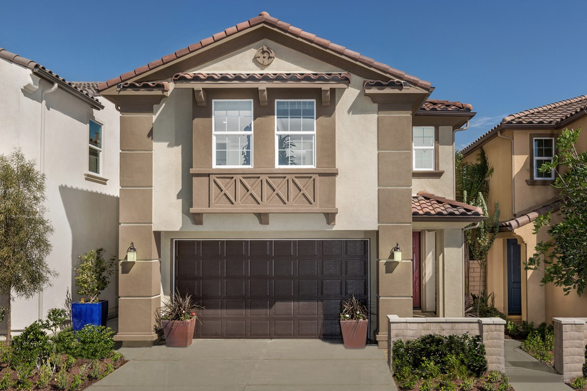 New Homes in Upland, CA - Springtime at Harvest Residence Three
