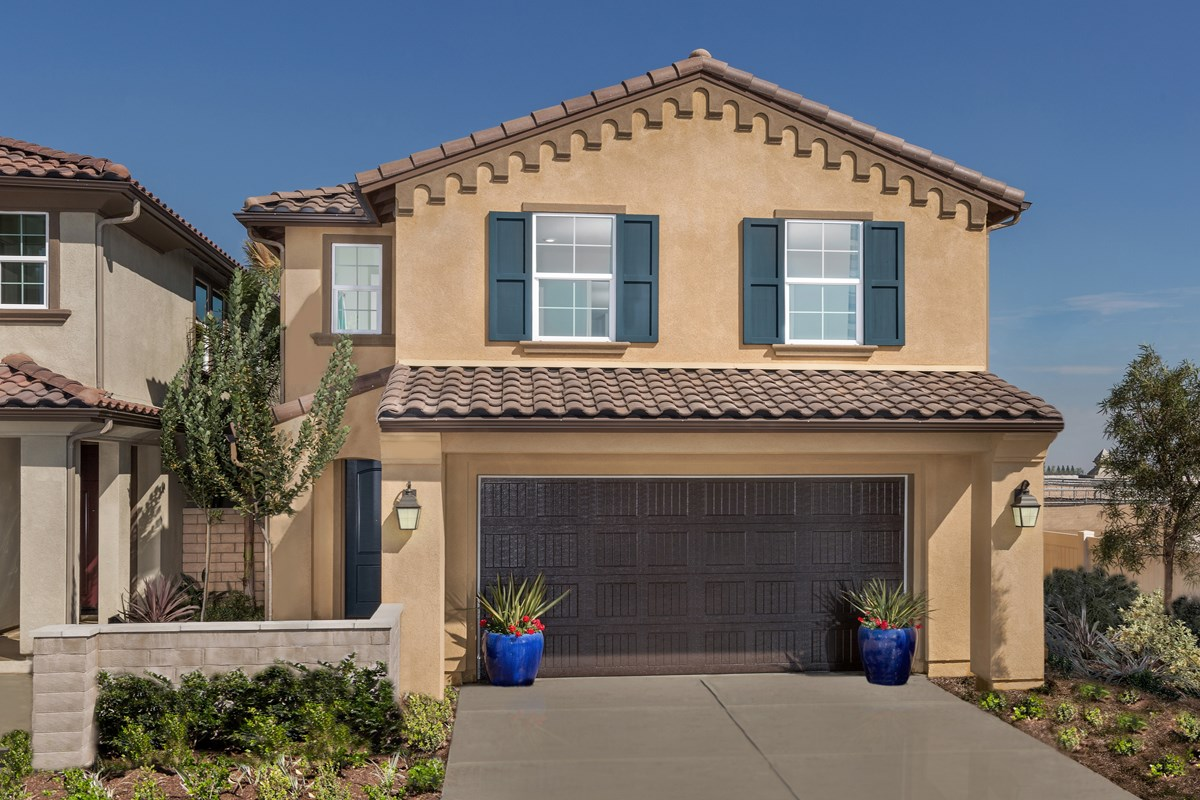 New Homes in Upland, CA - Springtime at Harvest Residence Four