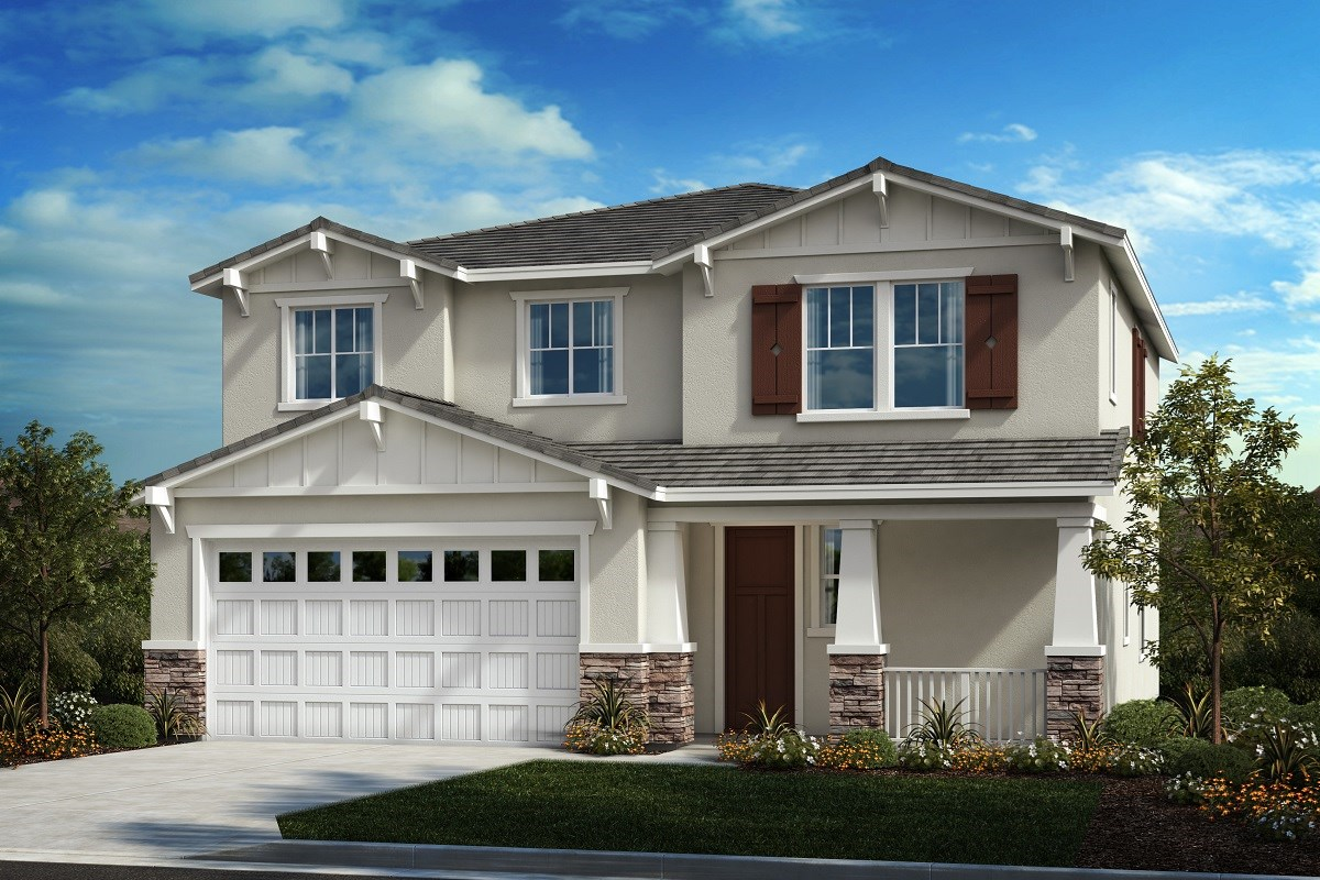 New Homes in Perris, CA - Stonecreek at Green Valley Ranch Residence 2461