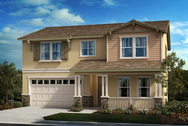 New Homes in Perris, CA - Craftsman 'B'