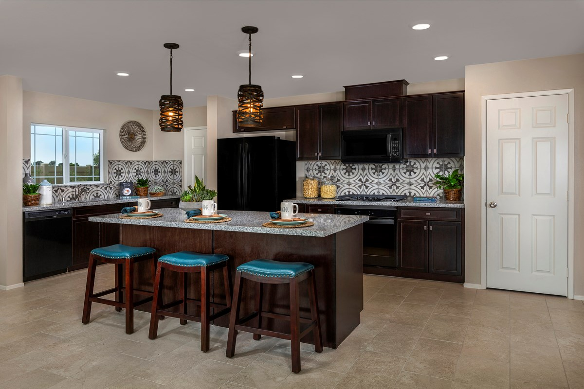 New Homes in South Perris, CA - Stonecreek at Green Valley Ranch Residence 2461 - Kitchen