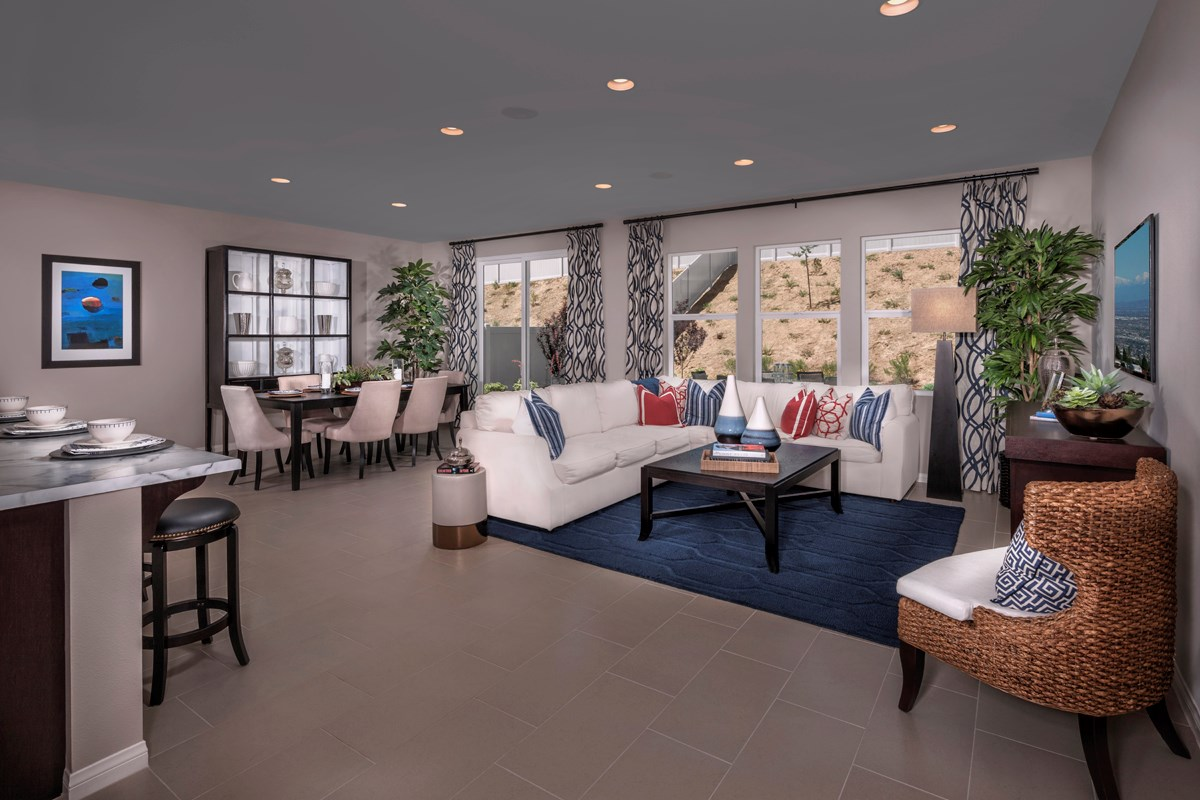 New Homes in San Jacinto, CA - Stonecrest at the Cove Residence Two - Great Room