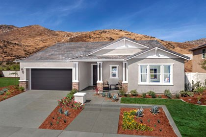 New Homes in San Jacinto, CA - Craftsman 'C'