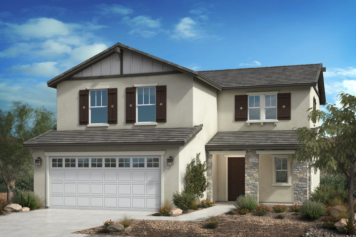 New Homes in Fontana, CA - Summit Crest Residence One - Craftsman