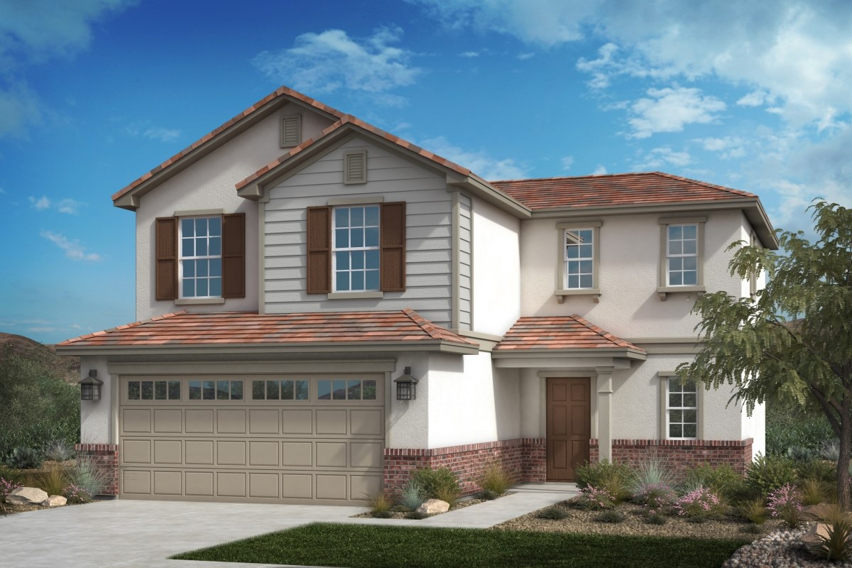 New Homes in Fontana, CA - Summit Crest Residence One - Traditional
