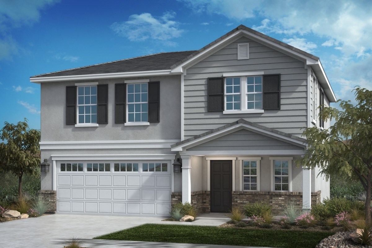 New Homes in Fontana, CA - Summit Crest Residence Two - Traditional