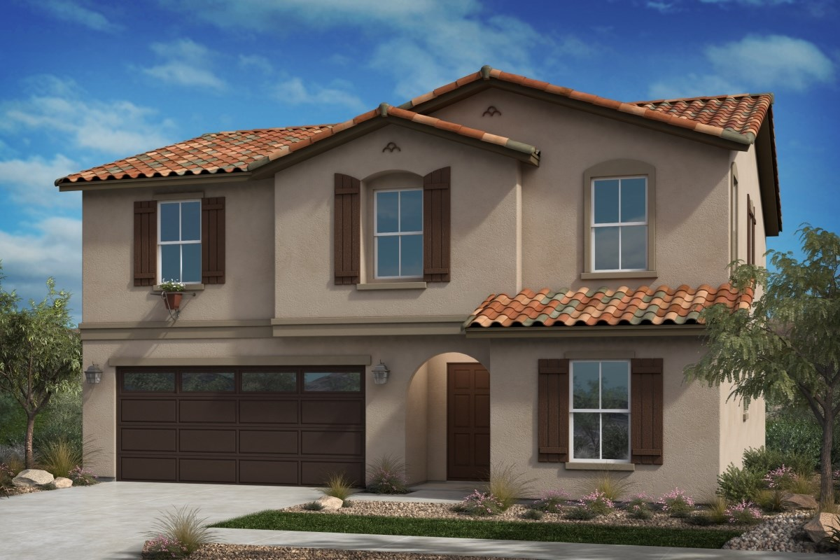 New Homes in Fontana, CA - Summit Crest Residence Three - Spanish