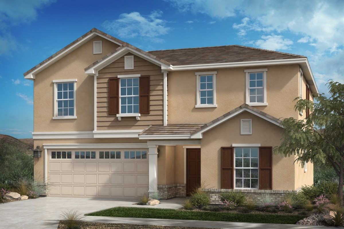 New Homes in Fontana, CA - Summit Crest Residence Three - Traditional