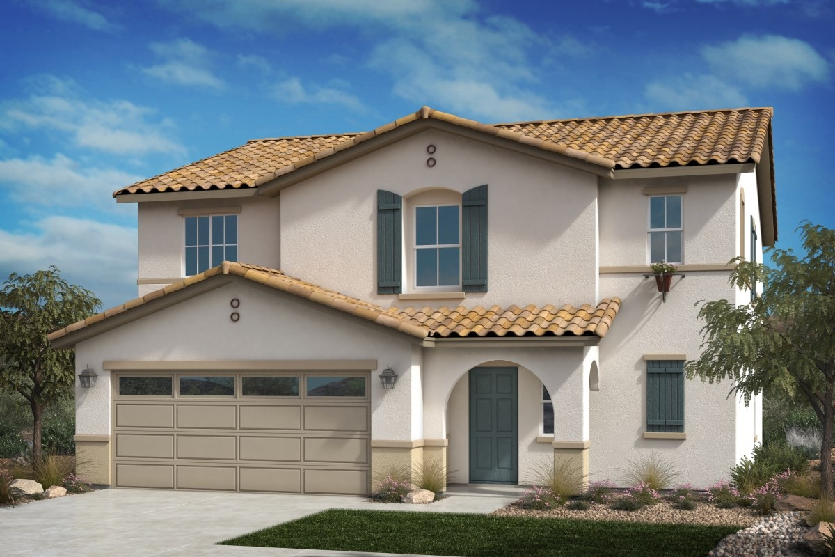 New Homes in Fontana, CA - Summit Crest Residence Four - Spanish