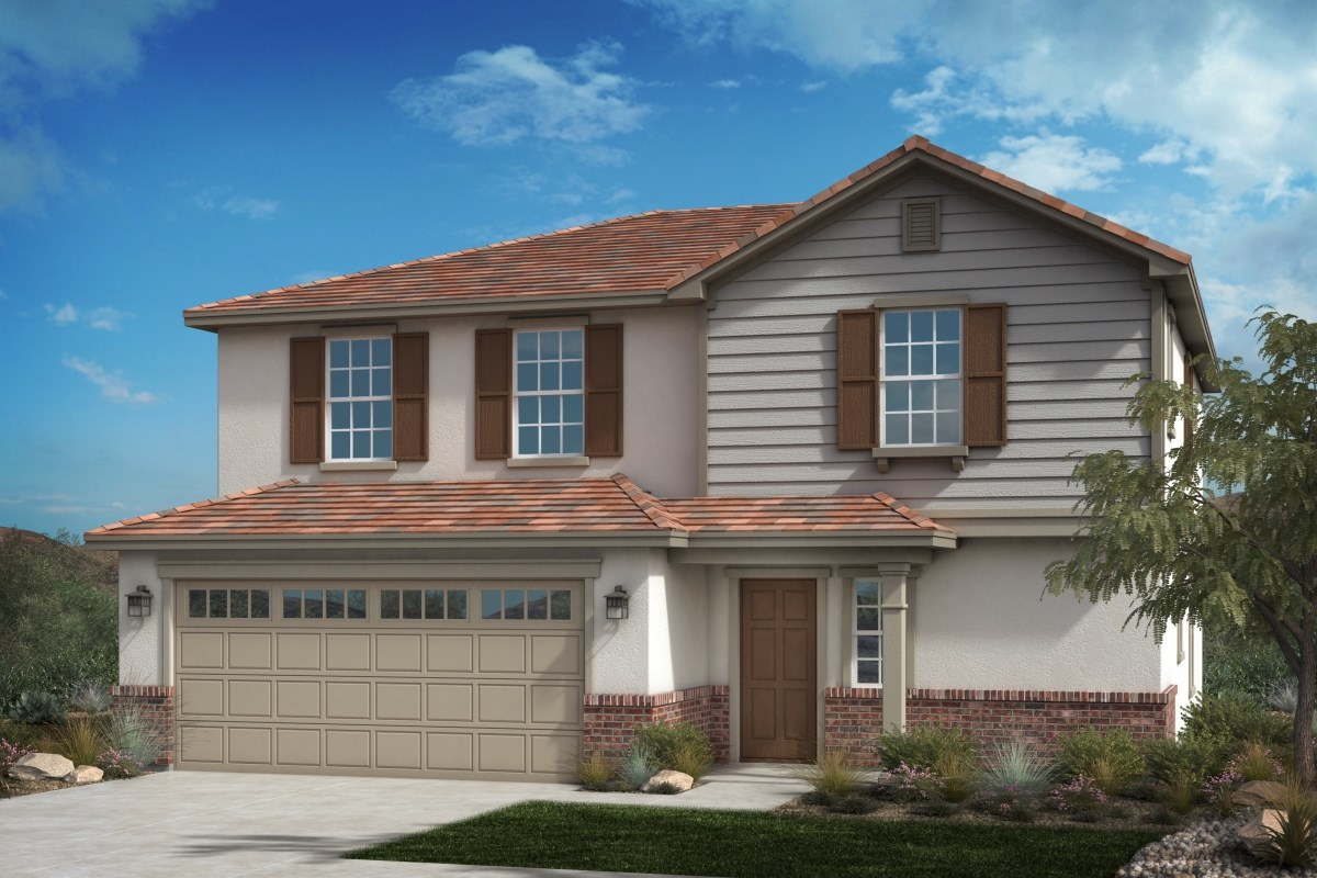 New Homes in Fontana, CA - Summit Crest Residence Four - Traditional