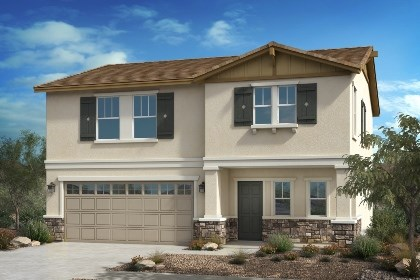New Homes in Fontana, CA - Craftsman 'B'