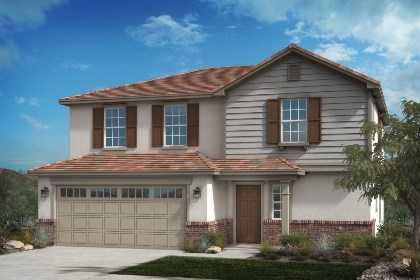 New Homes in Fontana, CA - Traditional 'C'