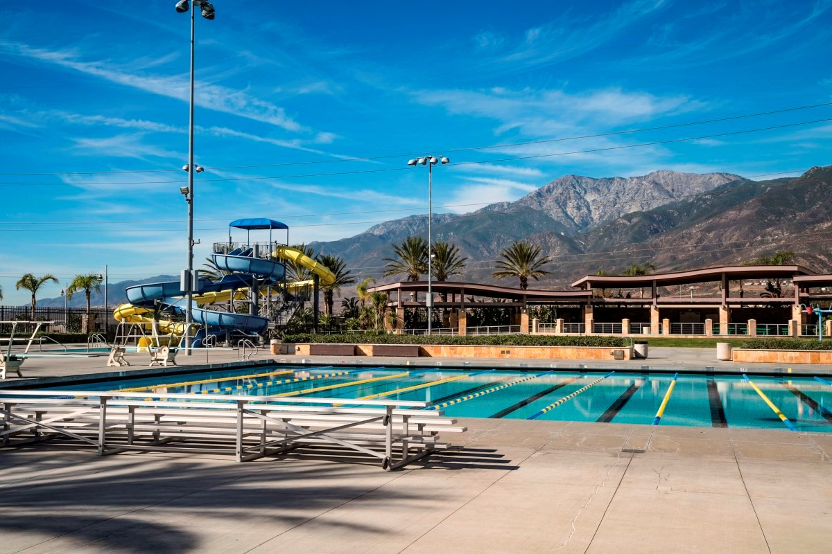 New Homes in Fontana, CA - Summit Crest Fontana Park Aquatic Center
