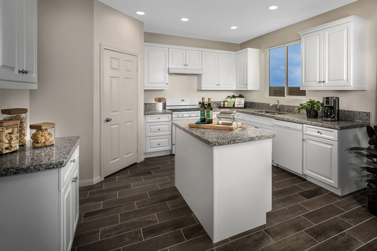 New Homes in Fontana, CA - Summit Crest Residence Two - Kitchen
