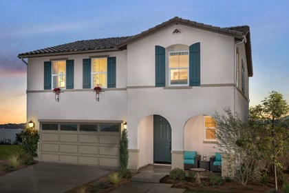 New Homes in Fontana, CA - Spanish 'A'