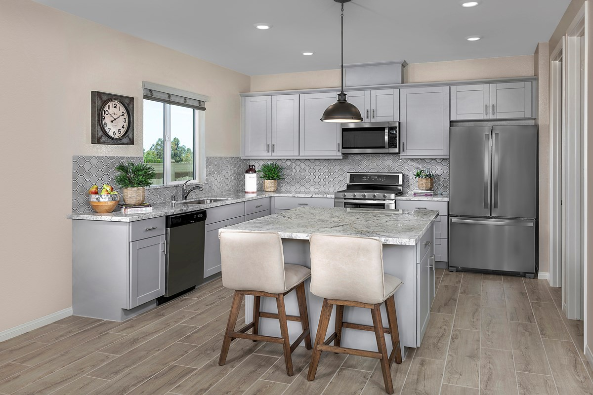New Homes in Menifee, CA - Talavera Residence Four - Kitchen