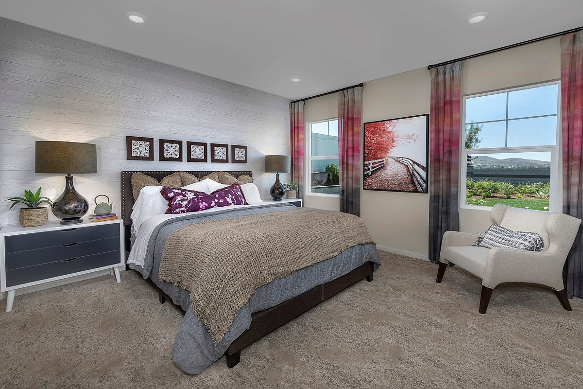 New Homes in Menifee, CA - Talavera Residence Four - Master Bedroom