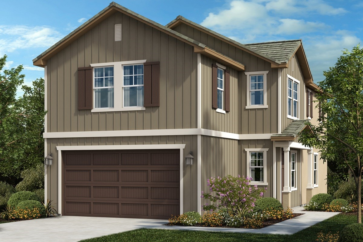 New Homes in Ontario, CA - The Cottages on 4th Residence 2021 - Style 2