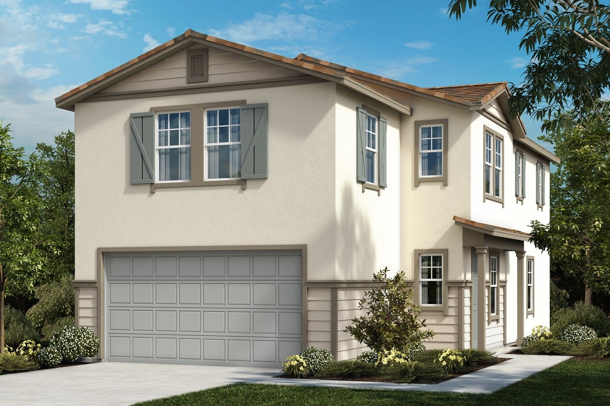 New Homes in Ontario, CA - The Cottages on 4th Residence 2021 - Style 3