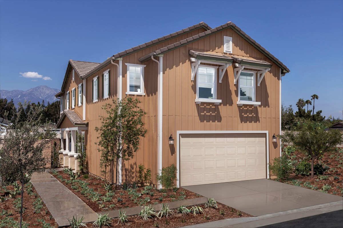 New Homes in Ontario, CA - The Cottages on 4th Residence 2174