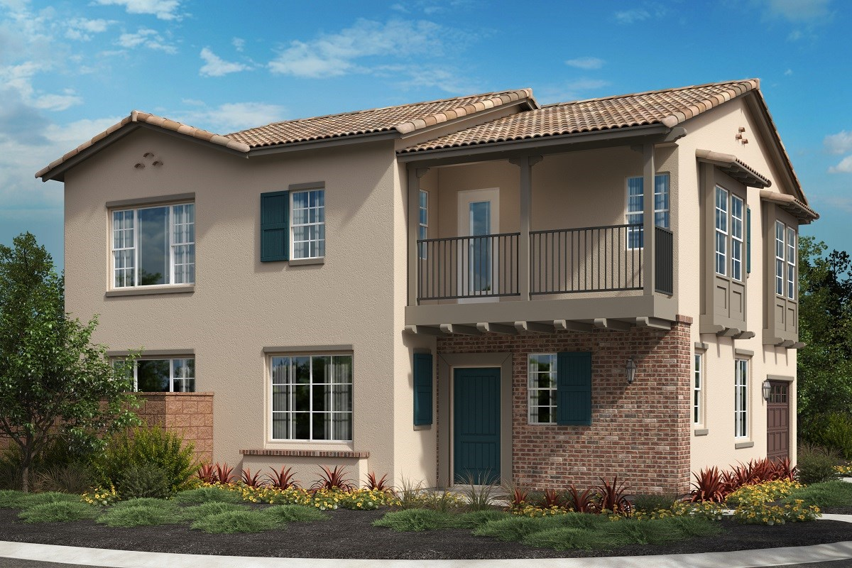 New Homes in North Fontana, CA - The Courts at El Paseo Residence 2100 - Monterey 'C'
