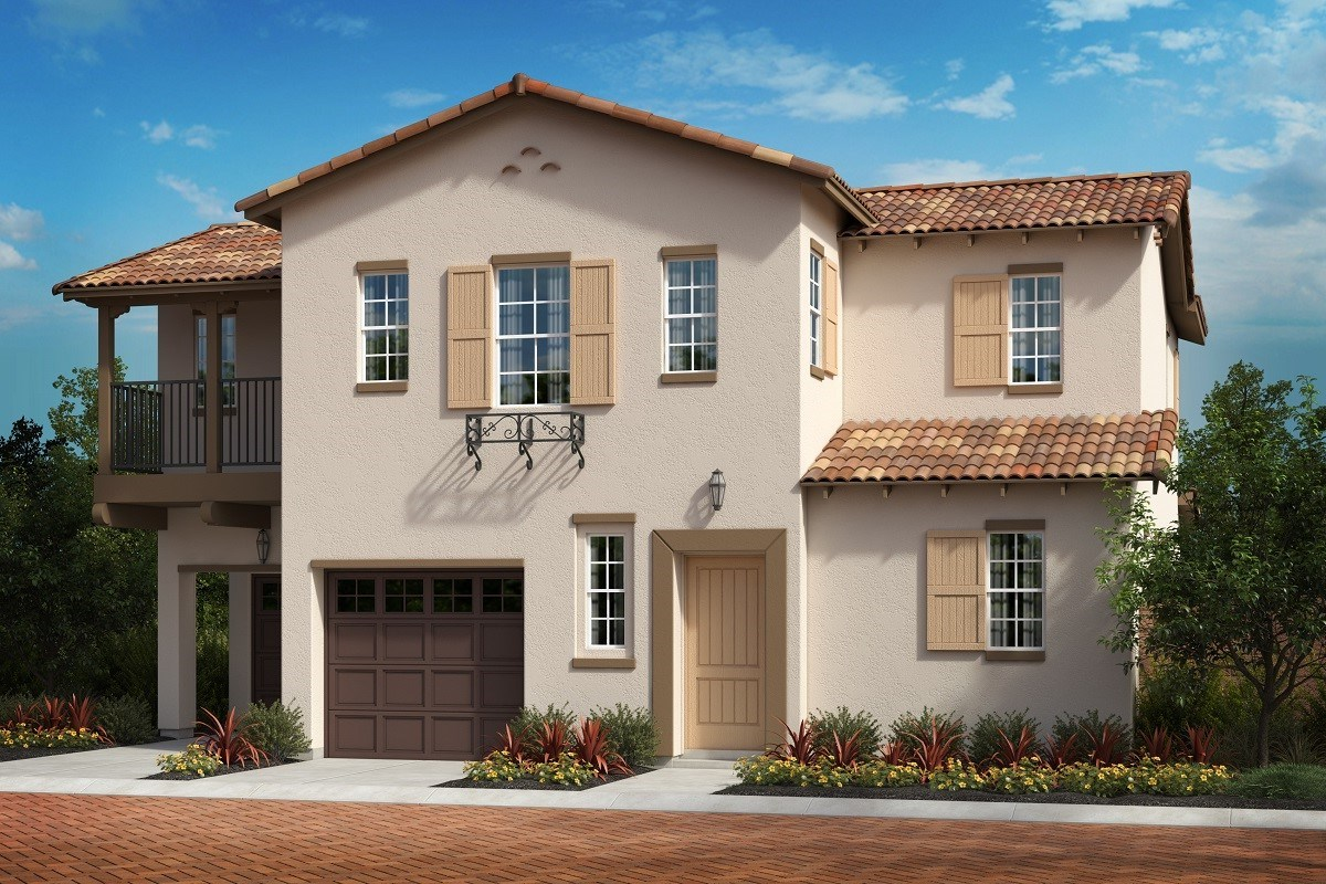 New Homes in North Fontana, CA - The Courts at El Paseo Residence 2051 - Monterey 'C'