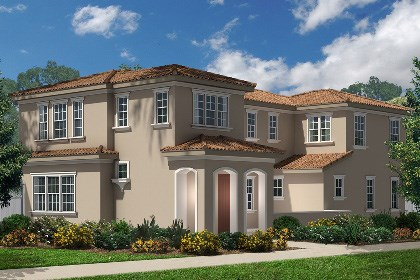 "New Homes in Eastvale, CA - Italianate ""A"""