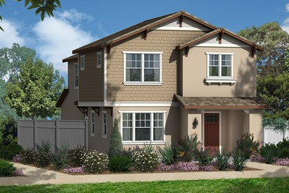 "New Homes in Eastvale, CA - Craftsman ""B"""