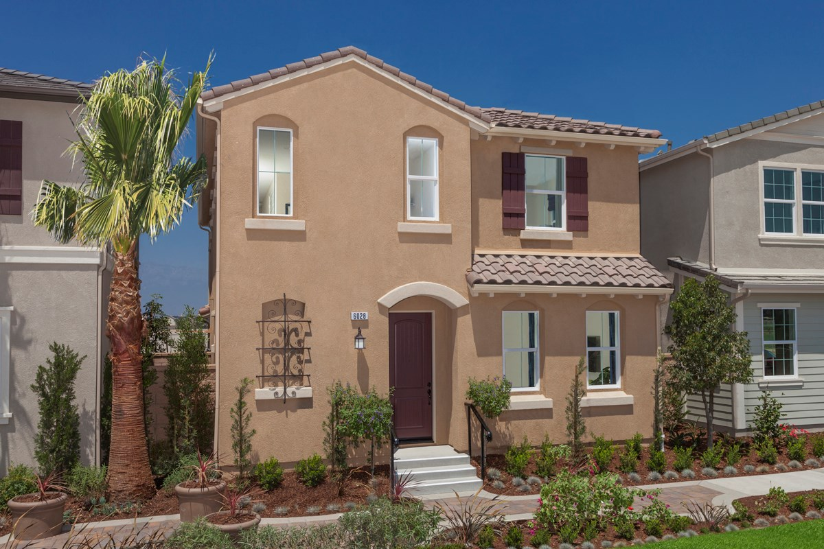 New Homes in Eastvale, CA - Harmony at The Lodge Residence Two