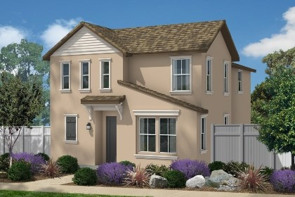 "New Homes in Eastvale, CA - French Country ""C"""