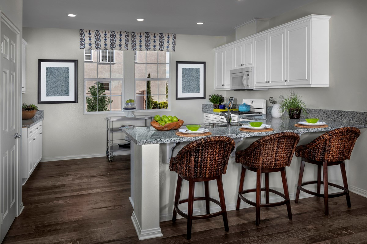 New Homes in Eastvale, CA - Symmetry at The Lodge Residence One - Kitchen
