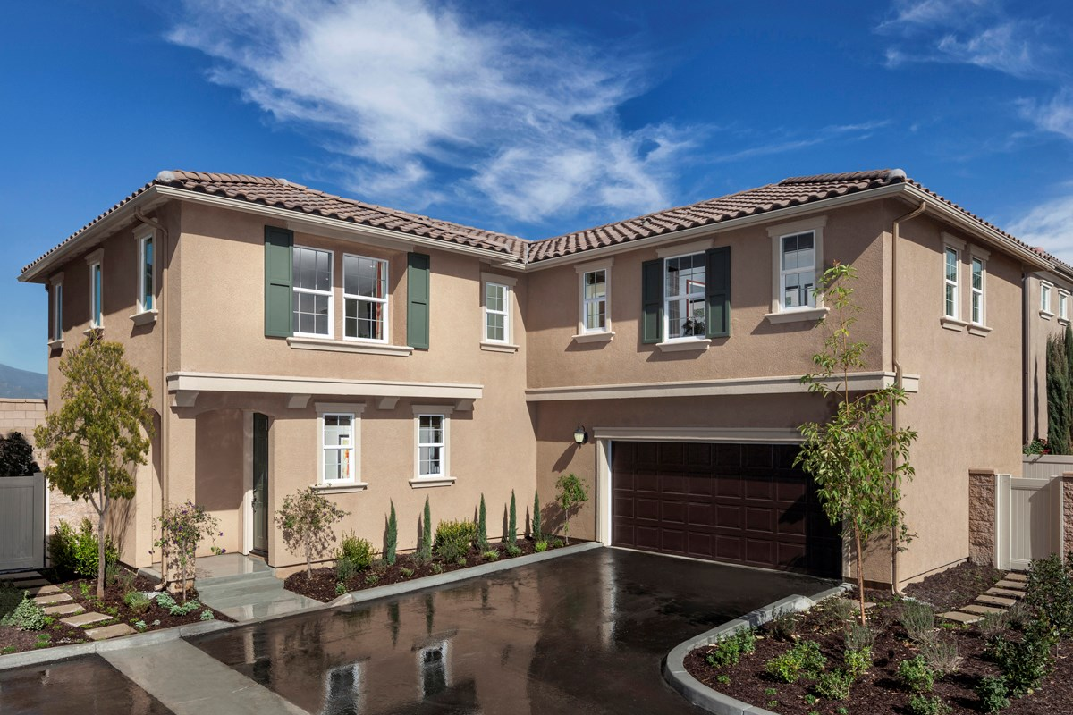New Homes in Eastvale, CA - Symmetry at The Lodge Residence Three