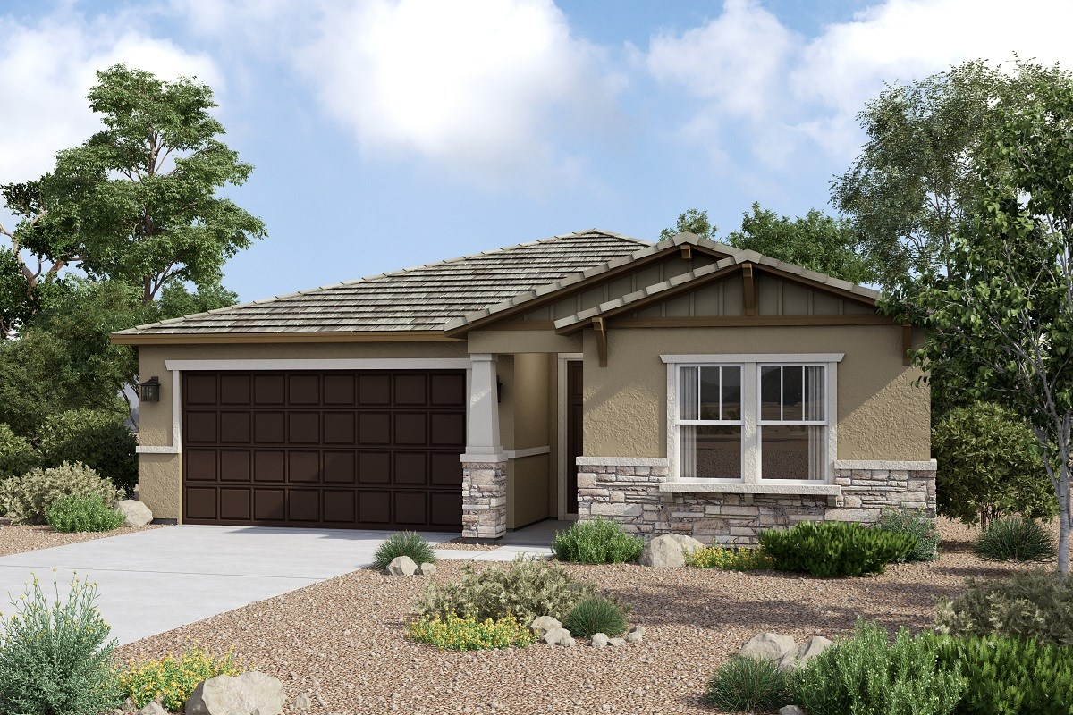 New Homes in Redlands, CA - The Meadows Residence 1627 - Craftsman 'C'