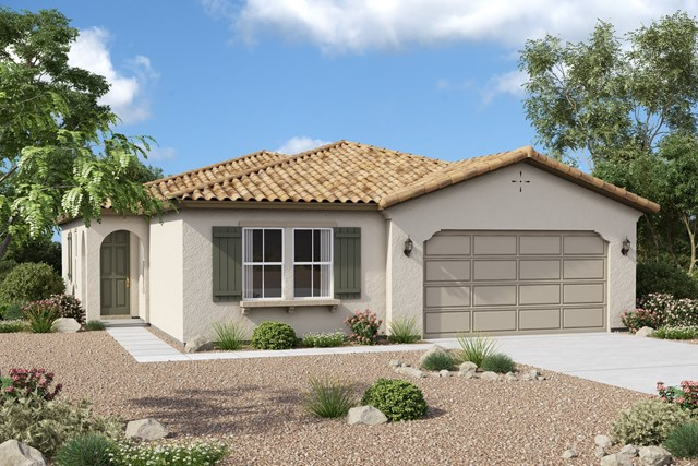 New Homes in Redlands, CA - Spanish 'A'