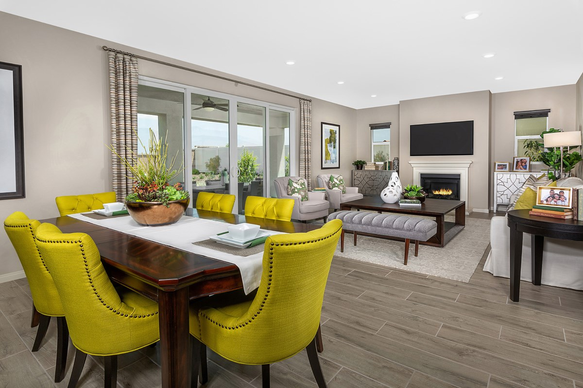 New Homes in Redlands, CA - The Meadows Residence 2537 - Great Room
