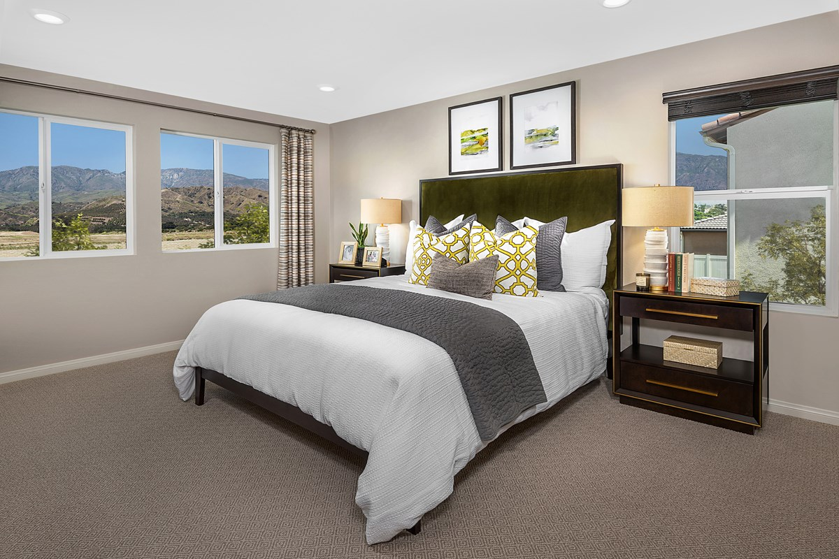 New Homes in Redlands, CA - The Meadows Residence 2537 - Master Bedroom