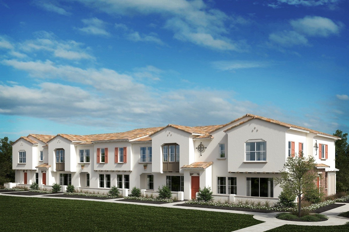 New Homes in North Fontana, CA - The Towns at El Paseo Spanish Colonial 'D'