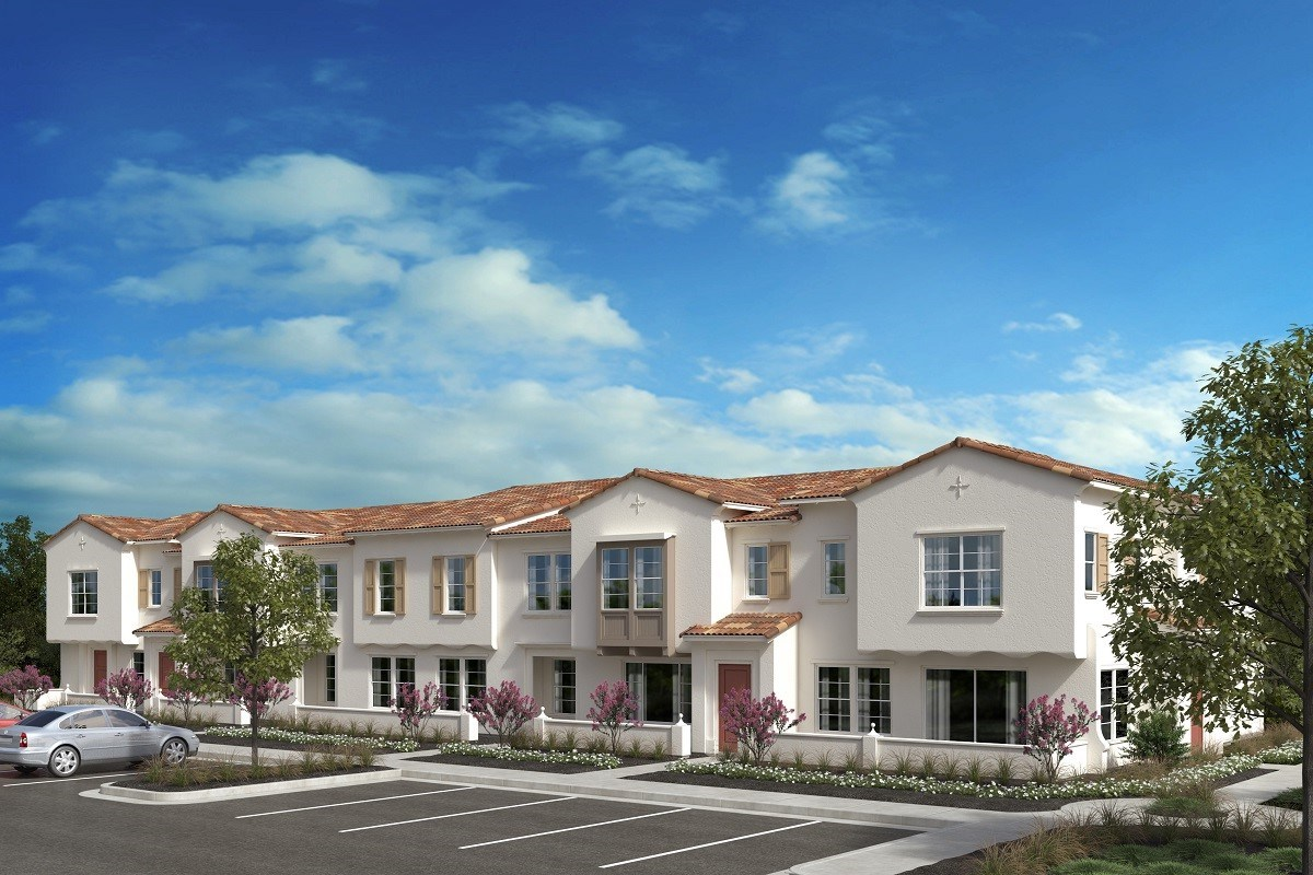 New Homes in North Fontana, CA - The Towns at El Paseo Andalusian 'B'