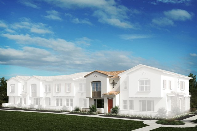 New Homes in North Fontana, CA - Spanish Colonial 'B'