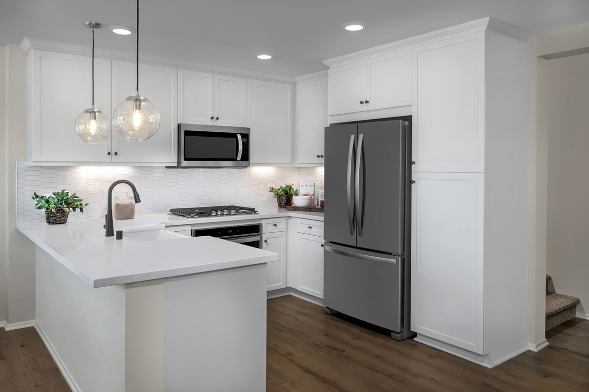New Homes in North Fontana, CA - The Towns at El Paseo Residence One - Kitchen