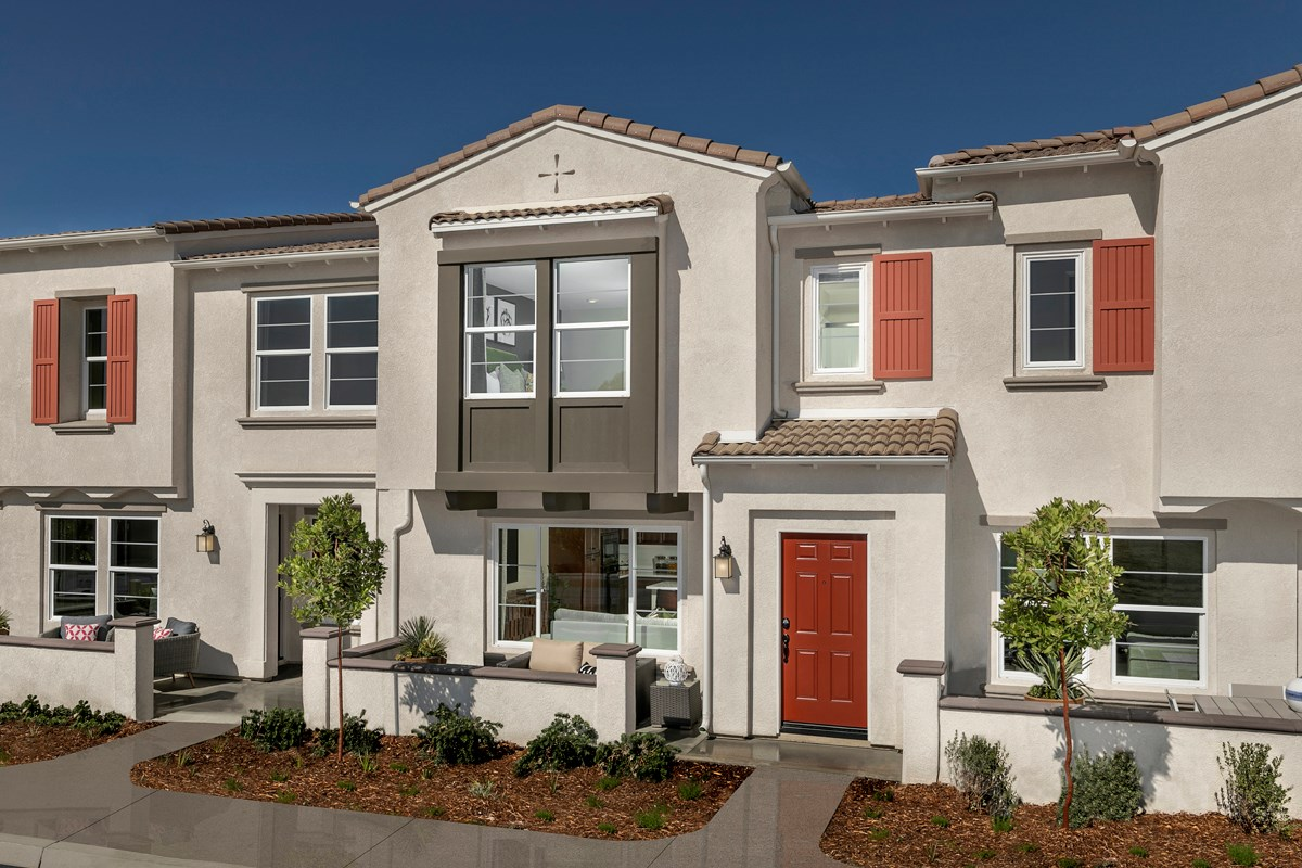 New Homes in North Fontana, CA - The Towns at El Paseo Residence Two