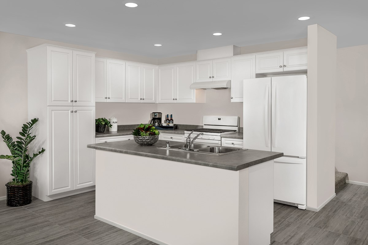New Homes in North Fontana, CA - The Towns at El Paseo Residence Four - Kitchen