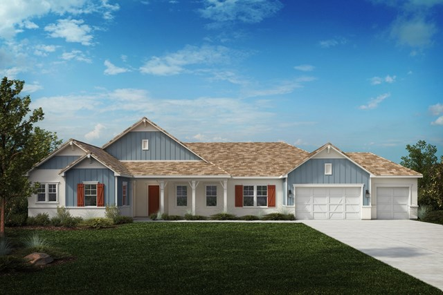 New Homes in Riverside , CA - Farmhouse 'D'