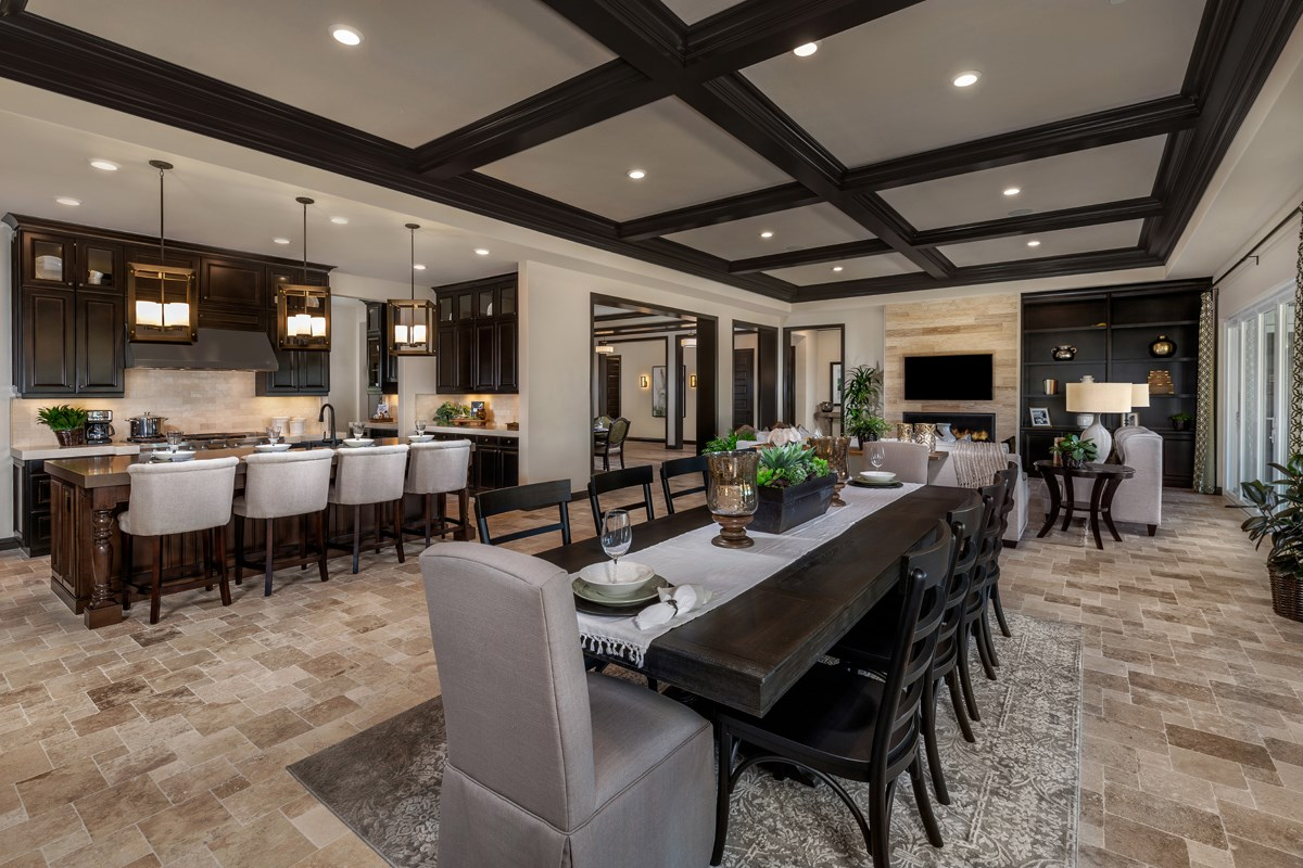 New Homes in Riverside , CA - The Trails at Mockingbird Canyon Residence 4011 - Dining